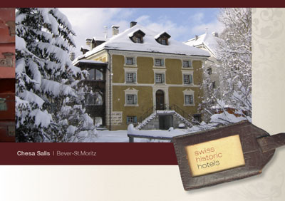 Swiss Historic Hotels Postkarten